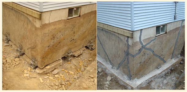 Residential Underpinning Chance® Helical Foundation System