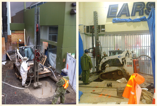IBO Micro-Pile System- Halifax Shopping Centre