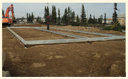 Helical Pier Foundation System