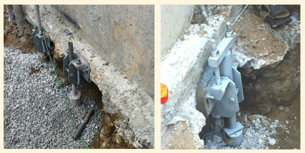 Underpinning IBO Micro-Pile System
