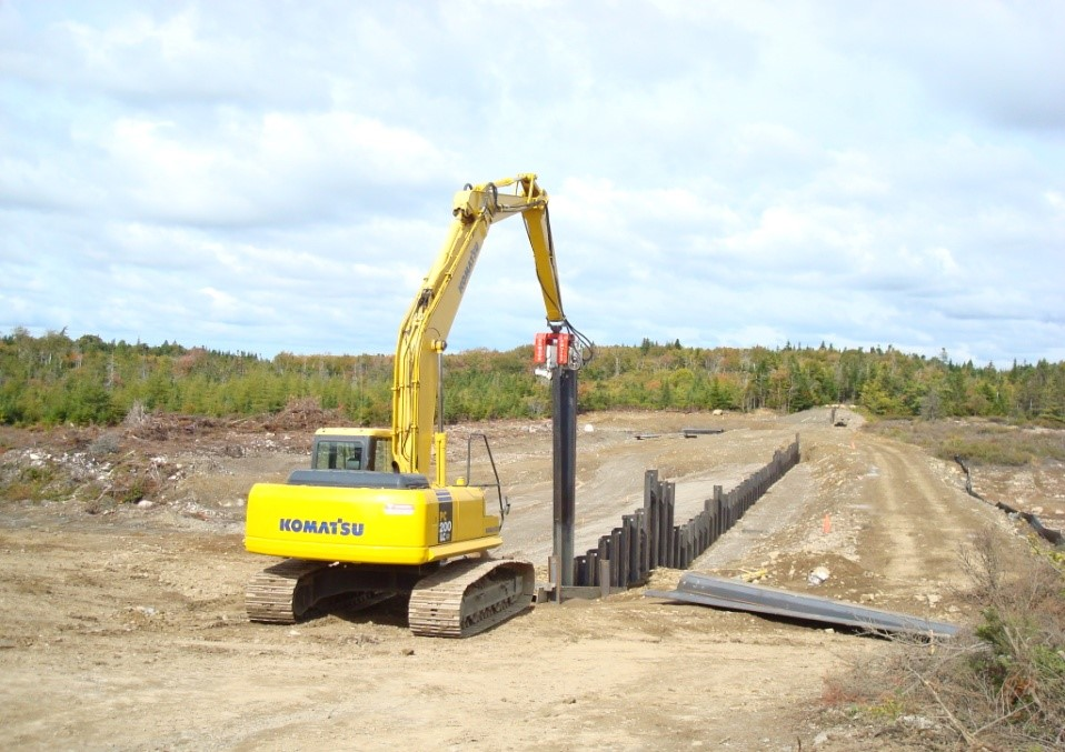 Sheet Piling Geotechnical Services
